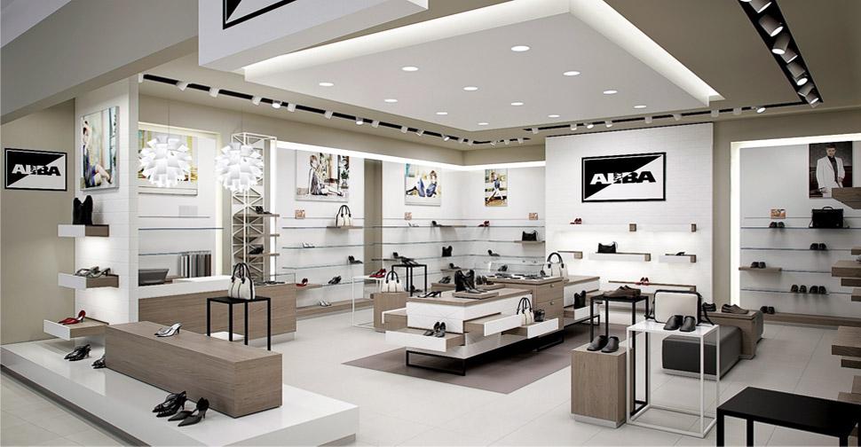 Дизайн для магазина обуви